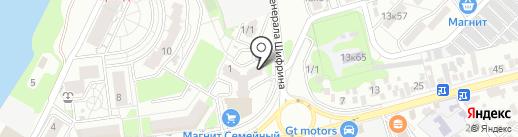 Скай Тревел на карте Краснодара