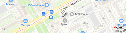 Warlus на карте Краснодара
