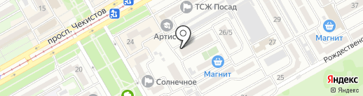 Shakti на карте Краснодара