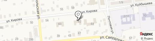Росгосстрах банк, ПАО на карте Куровского
