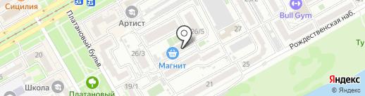Atis Group на карте Краснодара