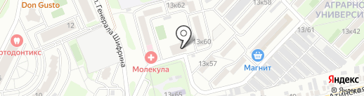 Краснодарпроектстрой, ЗАО на карте Краснодара