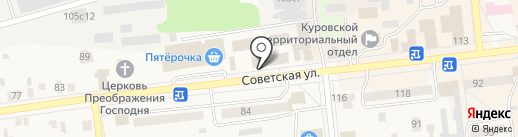 Qiwi на карте Куровского