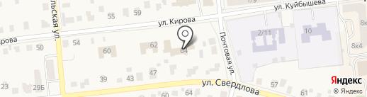 Куровская спортивная школа на карте Куровского