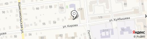 Баня на карте Куровского
