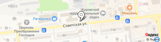 Tima на карте Куровского