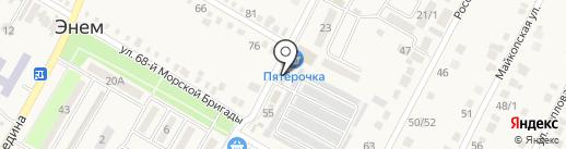 Муравей на карте Энема