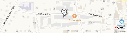 Хижина на карте Куровского