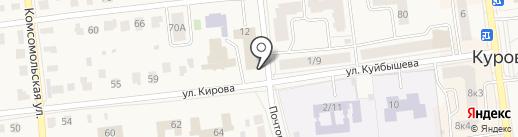 Загородный сад на карте Куровского