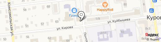 Арника на карте Куровского