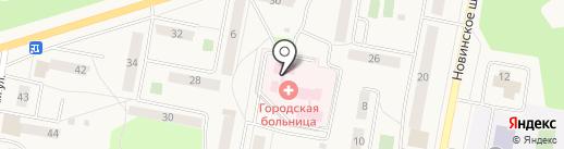 Куровская городская больница на карте Куровского