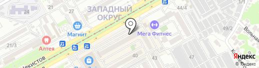 СпектрСвязь на карте Краснодара