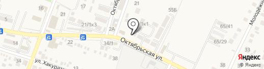 Эльбрус на карте Энема