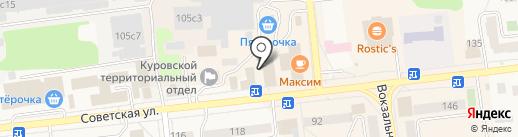 Оникс-строй на карте Куровского