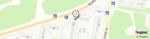 Почтовое отделение №142621 на карте Куровского