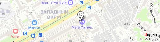 Прыг-Скок на карте Краснодара