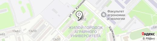 Солнце на карте Краснодара