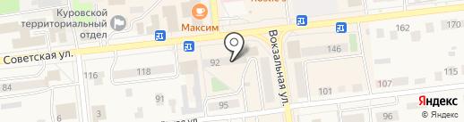 Куриный дом на карте Куровского