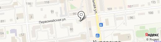 Магазин цветов на карте Куровского