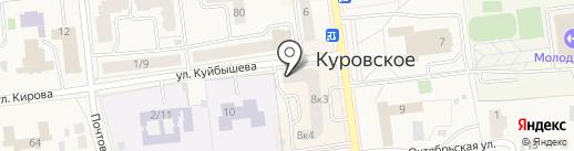 Чайкоффский на карте Куровского