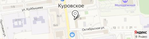 Банкомат, Почта Банк, ПАО на карте Куровского