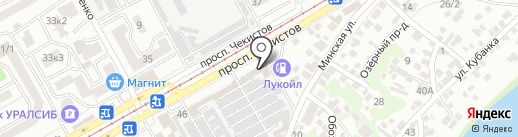 Стекольная мастерская на карте Краснодара