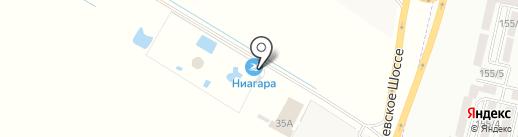 Ниагара на карте Краснодара