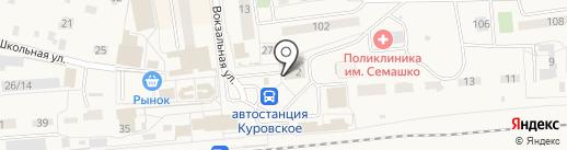 Медея на карте Куровского