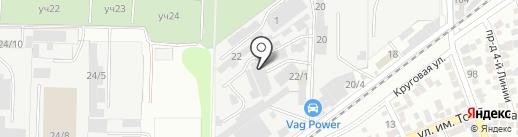 Салон ритуальных услуг на карте Краснодара