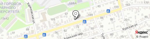 ОСКАР на карте Краснодара
