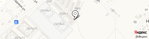 ЮгСтрой, ЖСК на карте Новой Адыгеи