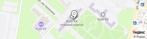 TIPI-SWIM на карте Краснодара