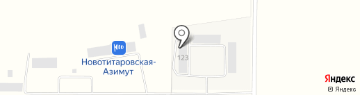 SkyTruck на карте Новотитаровской