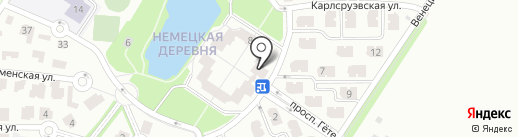 Cristalia на карте Краснодара