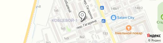 Авто+ на карте Яблоновского