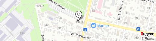 Нат. Пицца на карте Краснодара