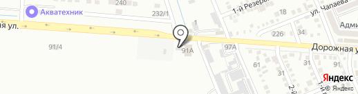 Шиномонтажная мастерская на карте Яблоновского