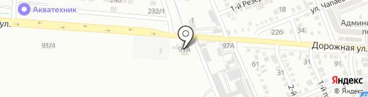 Автосервис на Дорожной (Яблоновский) на карте Яблоновского