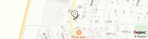 Амина на карте Яблоновского