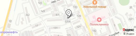 Автосервис на карте Яблоновского