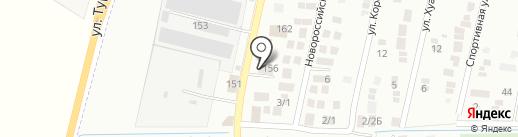 Мята на карте Яблоновского