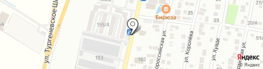 Шаурмичная на карте Яблоновского