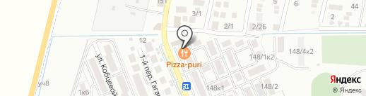 Магазин женской одежды на карте Яблоновского