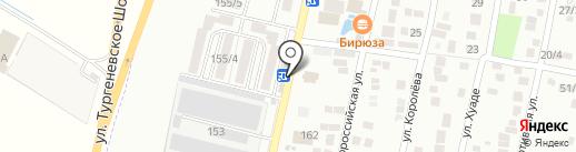 Магазин цветов на карте Яблоновского