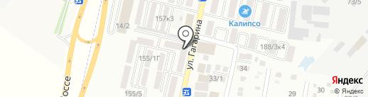 Хлебник на карте Яблоновского