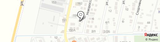 Град-Авеню на карте Яблоновского