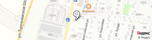 Calvados на карте Яблоновского
