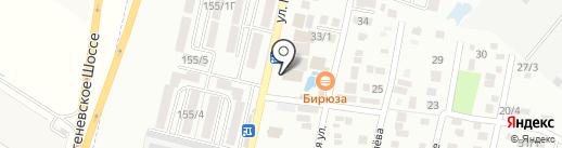 CK-Motors на карте Яблоновского