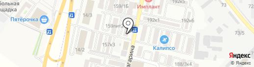 Агрокомплекс на карте Яблоновского