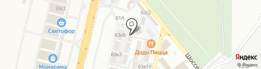 Компаньон-Сити на карте Яблоновского